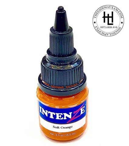 MỰC XĂM HÌNH INTENZE SOFT ORANGE ( 15ml )