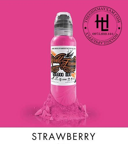 MỰC XĂM WORLD FAMOUS STRAWBERRY ( 15ml )