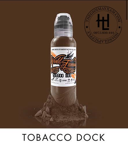 MỰC XĂM WORLD FAMOUS TABACCO DOCK ( 15ml )