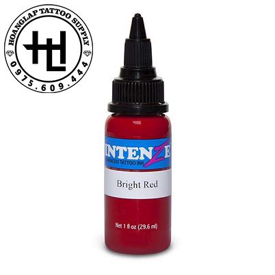 MỰC XĂM INTENZE BRIGHT RED ( 30ml )