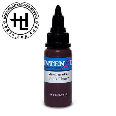 mực xăm intenze Black Cherry
