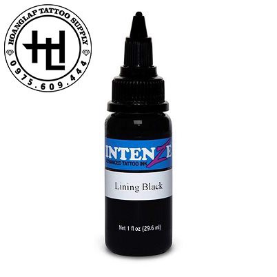 MỰC XĂM INTENZE LINING BLACK ( 30ml )