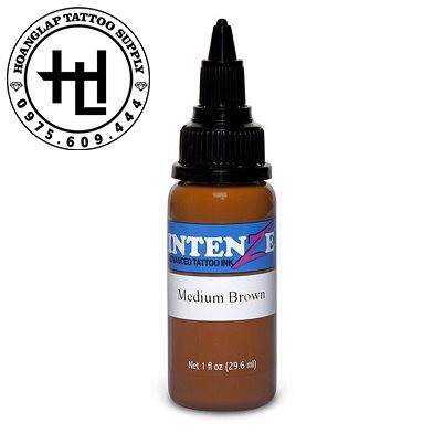 MỰC XĂM INTENZE MEDIUM BROWN ( 30ml )