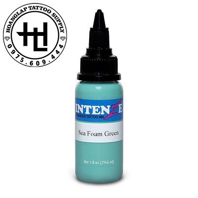 MỰC XĂM INTENZE SEA FOAM GREEN ( 30ml )