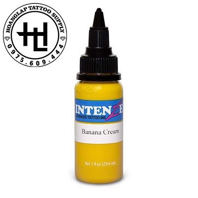 MỰC XĂM INTENZE BANANA CREAM ( 30ml )