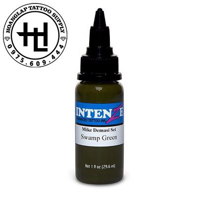 MỰC XĂM INTENZE SWAMP GREEN ( 30ml )