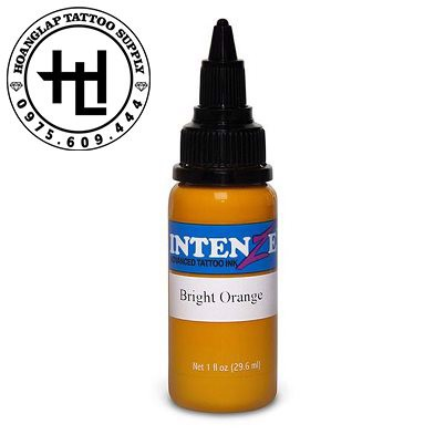 MỰC XĂM INTENZE BRIGHT ORANGE ( 30ml )