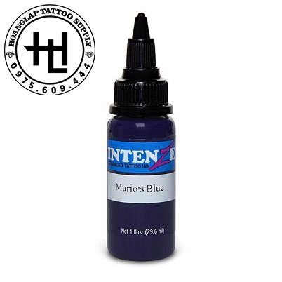 MỰC XĂM INTENZE MARIO'S BLUE ( 30ml )