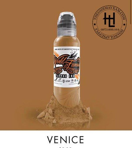 MỰC XĂM WORLD FAMOUSVENICE  ( 15ml )