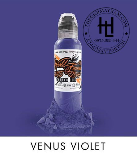 MỰC XĂM WORLD FAMOUS VENUS VIOLET ( 15ml )