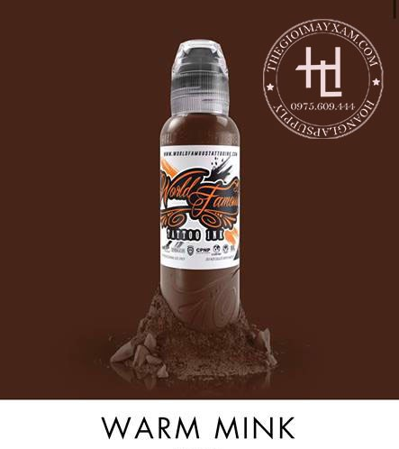 MỰC XĂM WORLD FAMOUS WARM MINK ( 15ml )