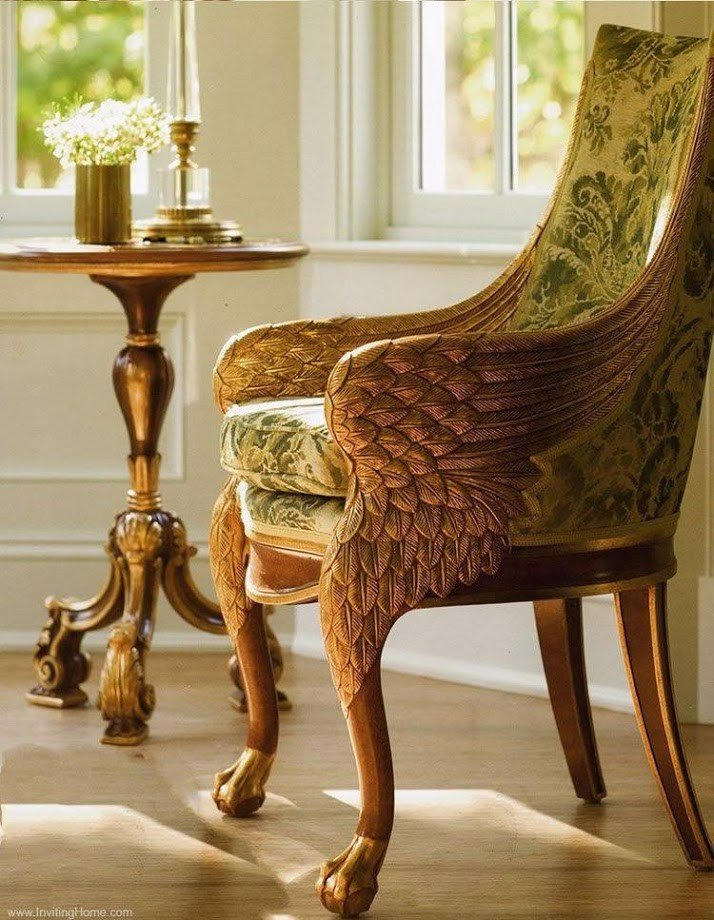 wing arm chair