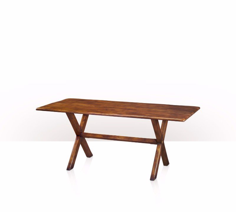 5400-129 Table - Bàn A solid babool refectory table