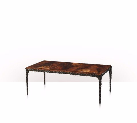 5121-061 Table - Bàn Leaves and Flames