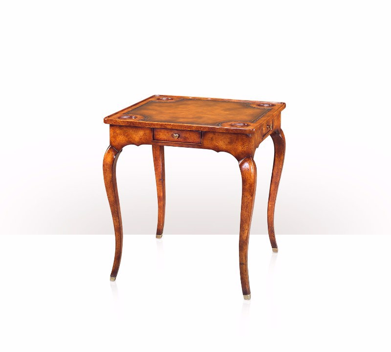 5200-021 Table - Bàn A provincial burl games table