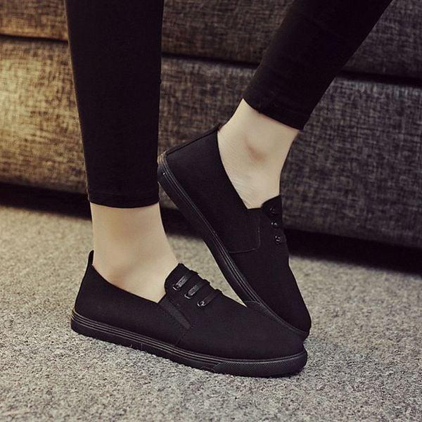 A.Giày Slipon nữ MWC NUSL- 1502
