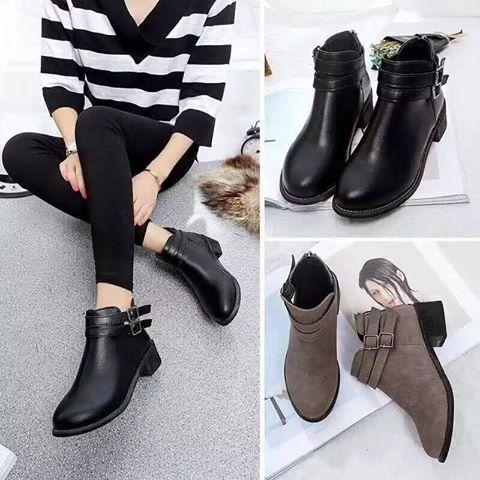 Giày boot nữ MWC NUBO- 4007