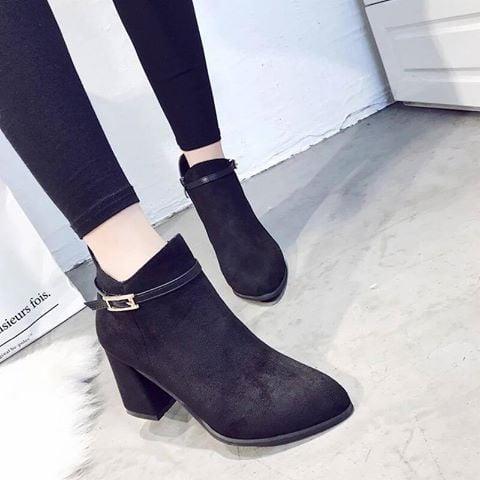 Giày boot nữ MWC NUBO- 4010