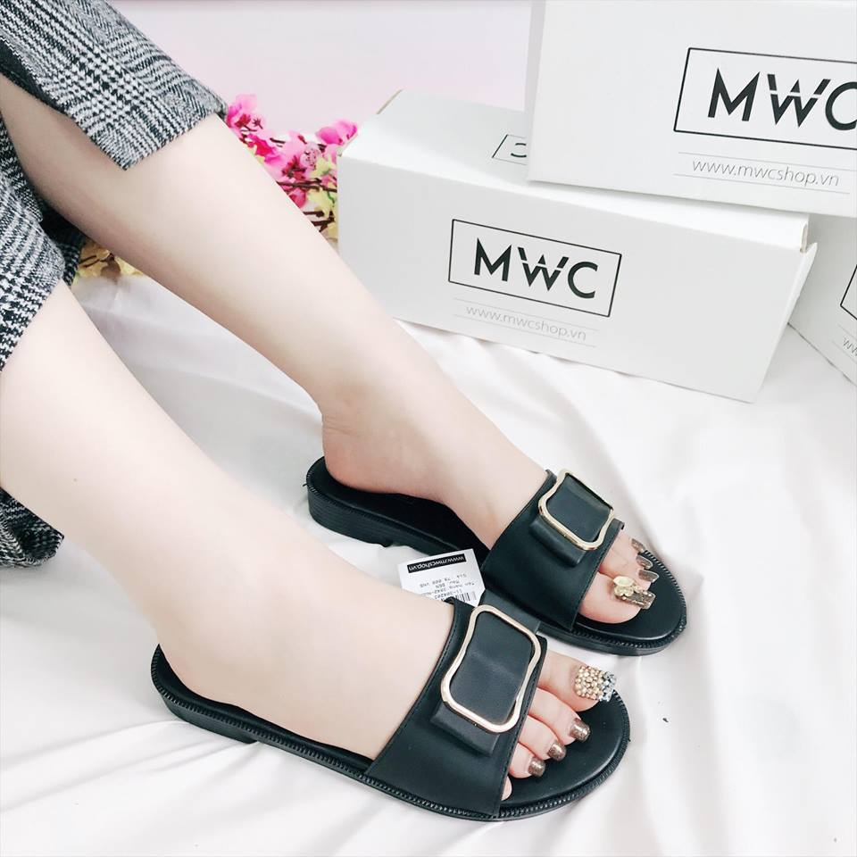 Dép nữ MWC NUDE- 3042