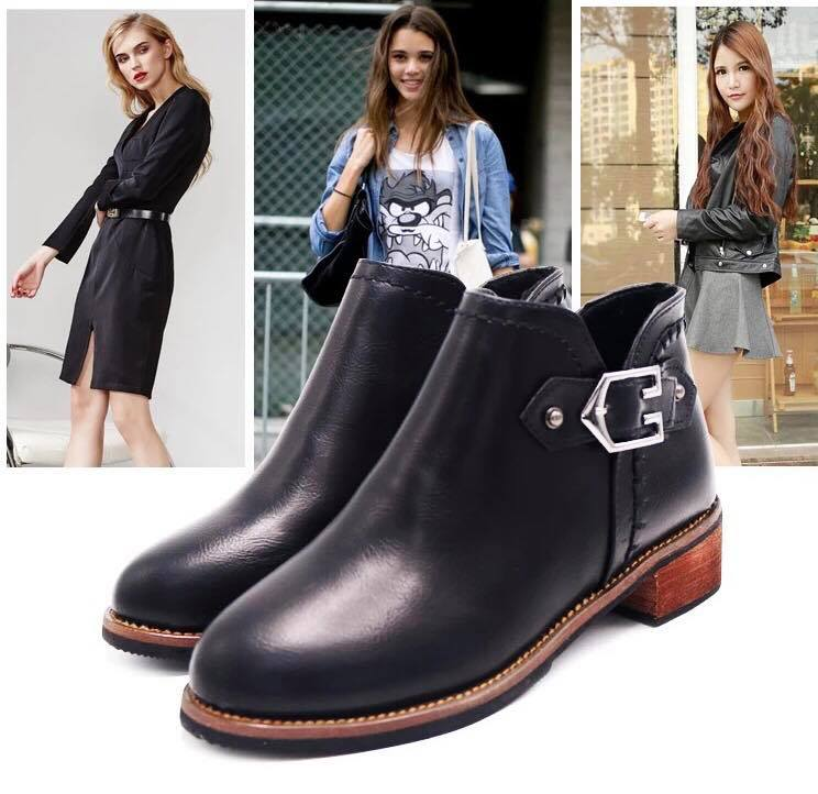 Giày boot nữ MWC NUBO- 4025