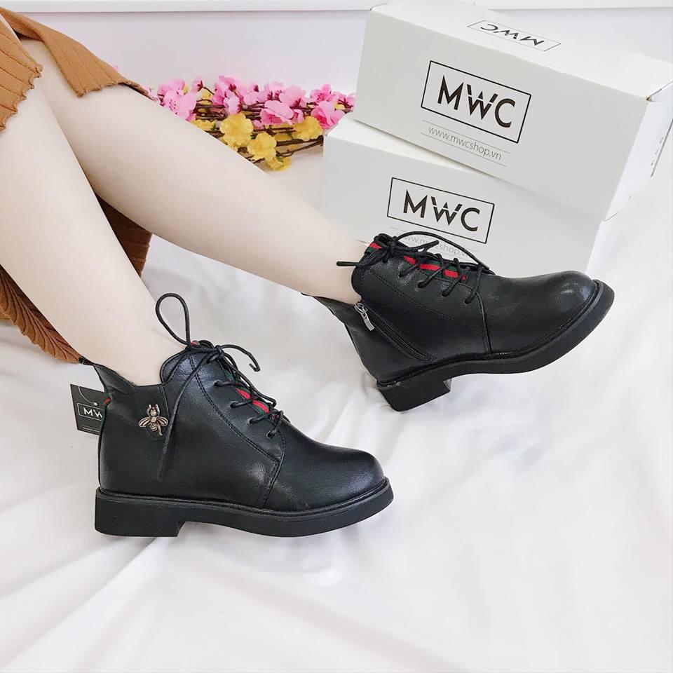 Giày boot nữ MWC NUBO- 4043