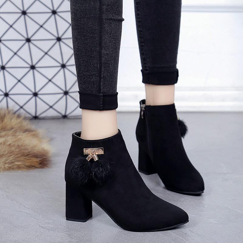 Giày boot nữ MWC NUBO- 4040