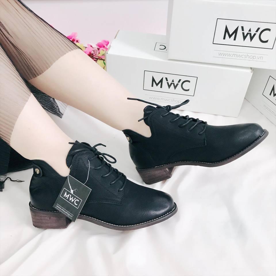 Giày boot nữ MWC NUBO- 4038
