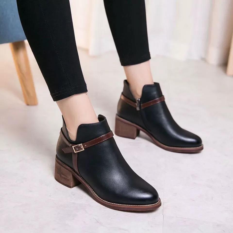 Giày boot nữ MWC NUBO- 4042