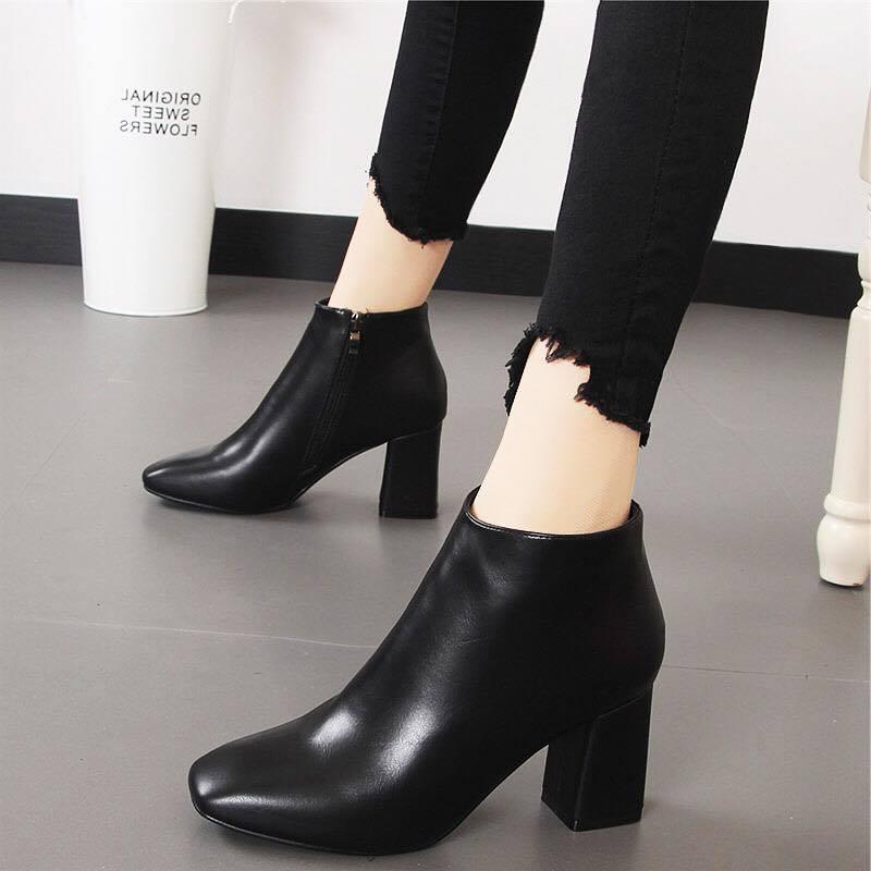 Giày boot nữ MWC NUBO- 4015