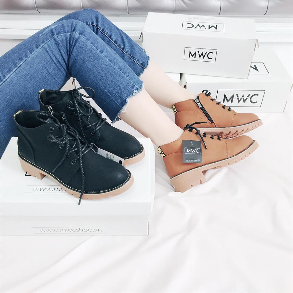 Giày boot nữ MWC NUBO- 4009