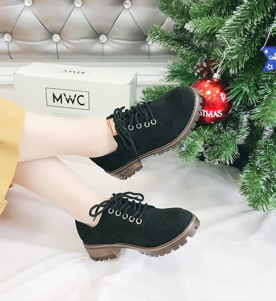 Giày boot nữ MWC NUBO- 4016
