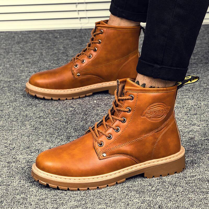 Giày boot nam MWC NABO- 8015