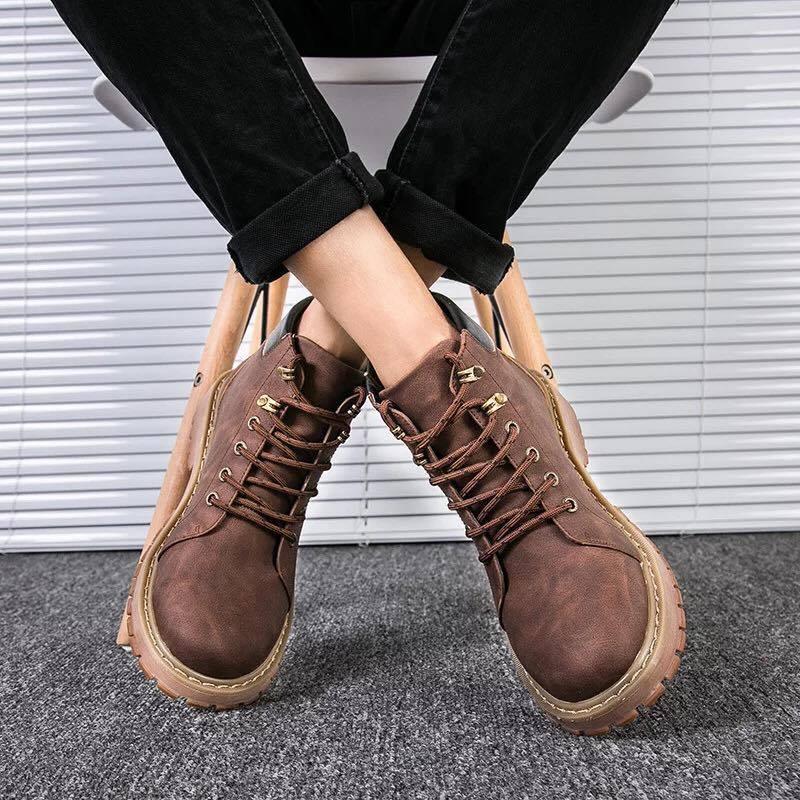 Giày boot nam MWC NABO- 8018