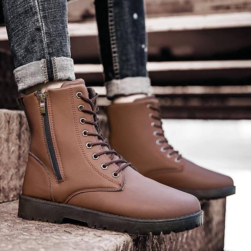 Giày boot nam MWC NABO- 8019