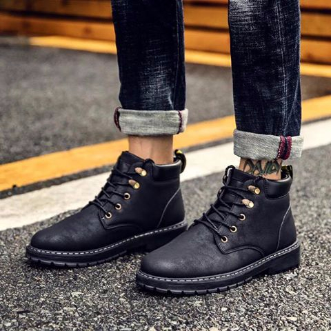 Giày boot nam MWC NABO- 8014