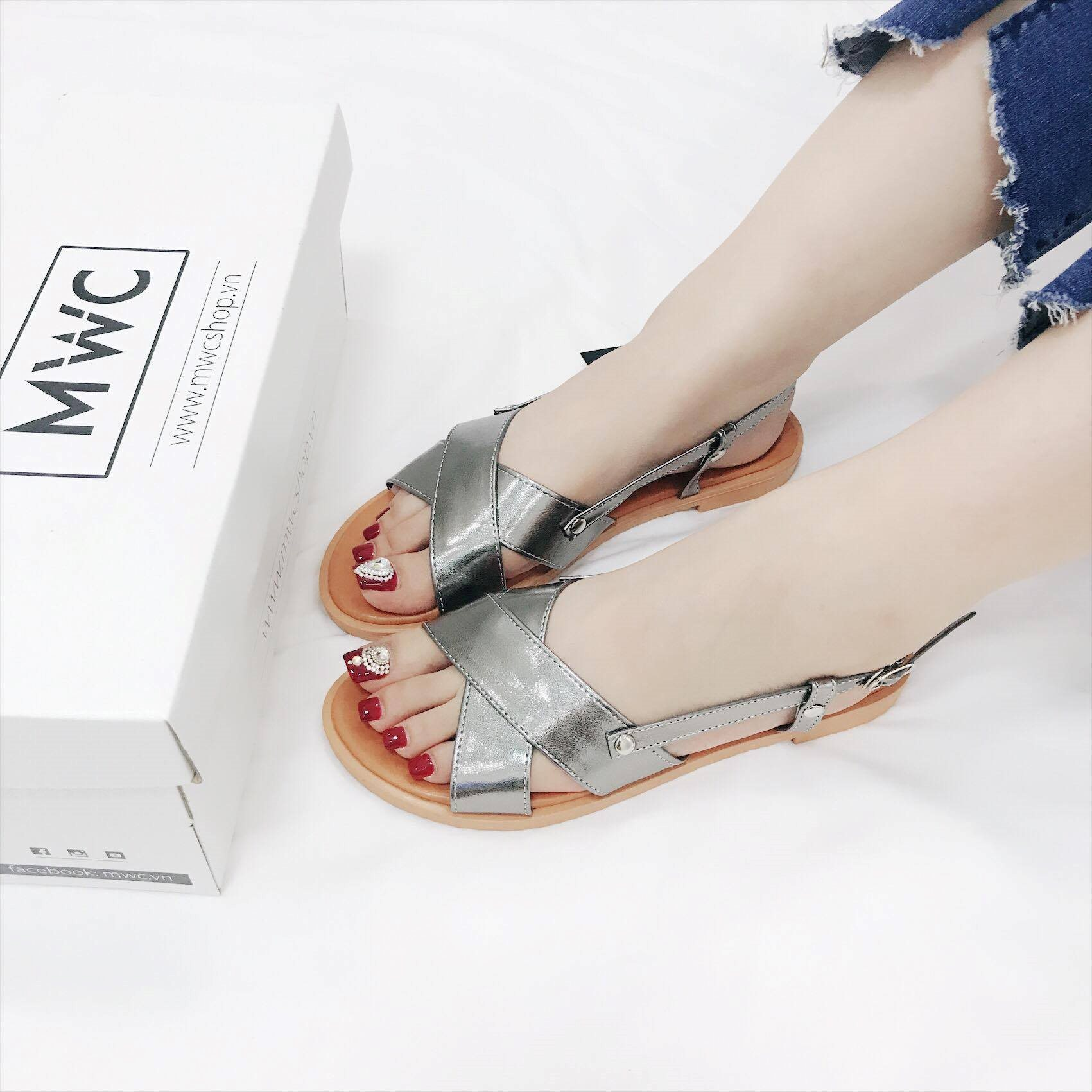 Giày sandal nữ MWC NUSD- 2538