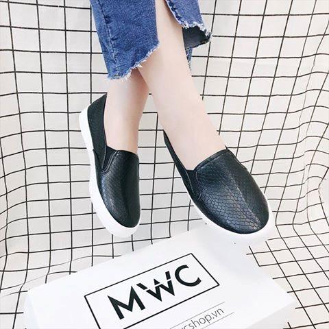 Giày Slipon nữ MWC NUSL- 1521