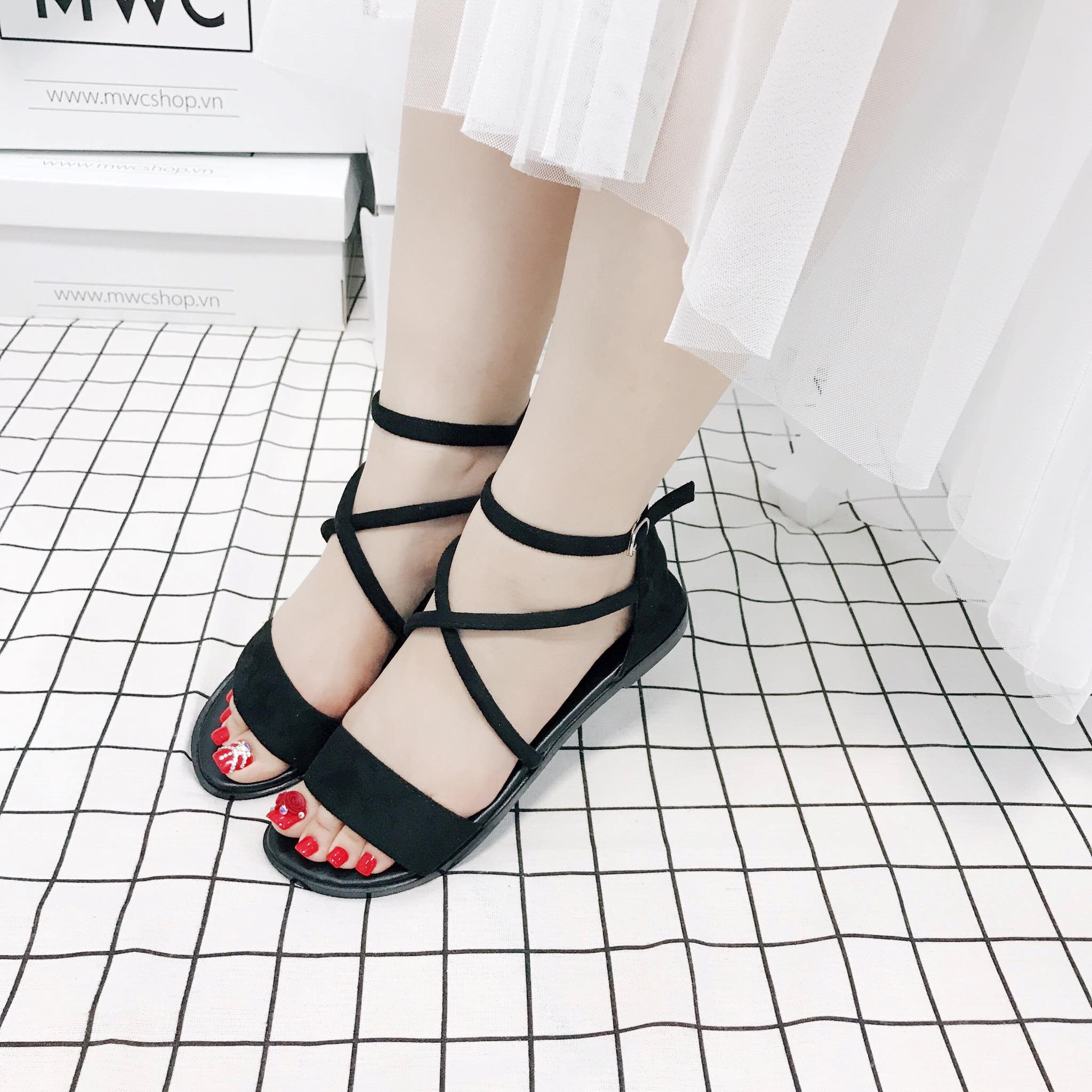 Giày sandal nữ MWC NUSD- 2509