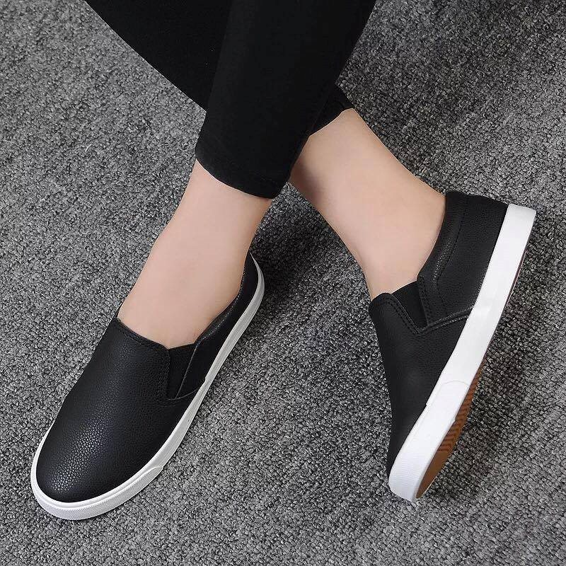 .Giày Slipon nữ MWC NUSL- 1510