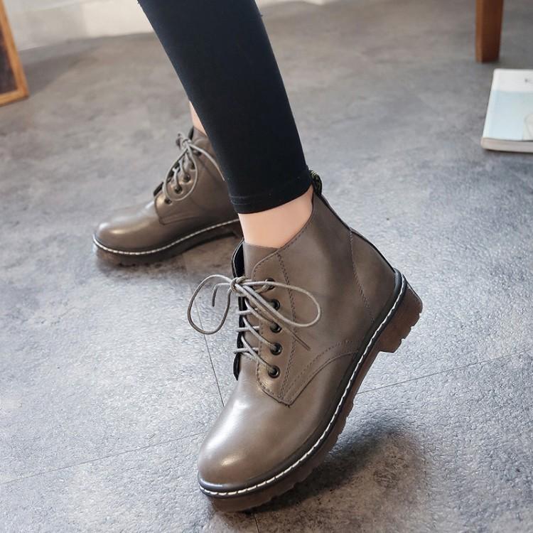 Giày boot nữ MWC NUBO- 4020