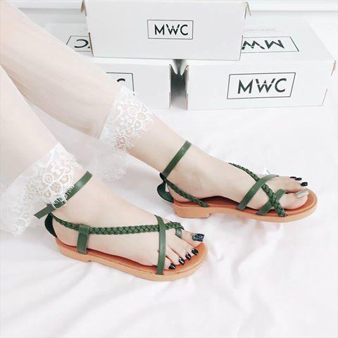 Giày sandal nữ MWC NUSD- 2562