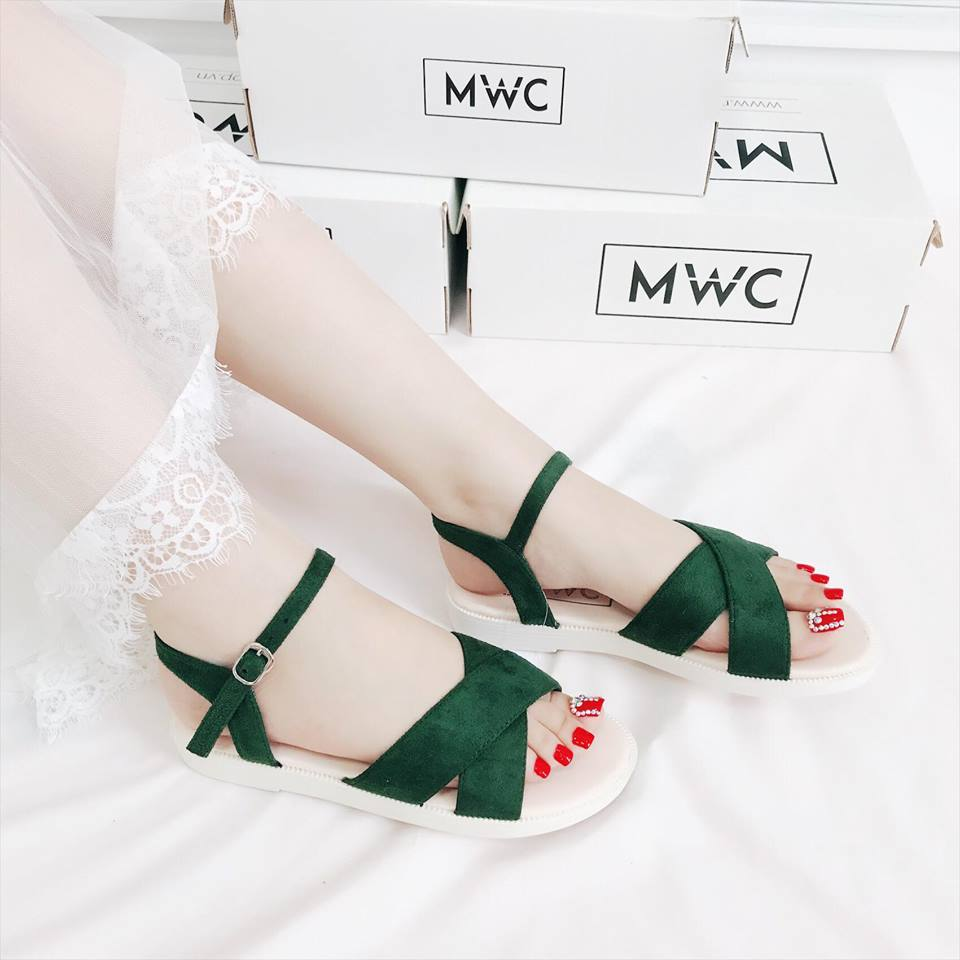 Giày sandal nữ MWC NUSD- 2563