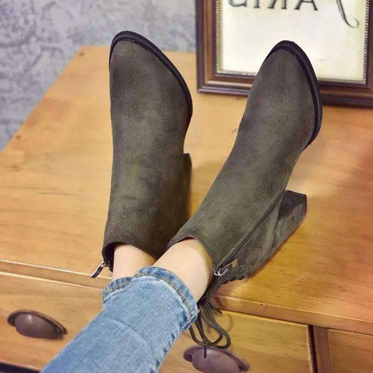 Giày boot nữ MWC NUBO- 4026