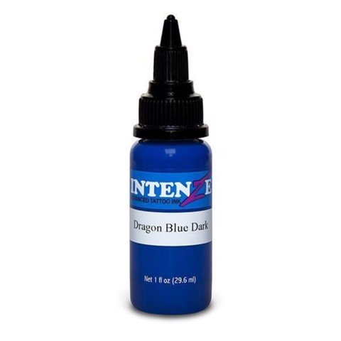 INTENZE INK - DRAGON BLUE DARK