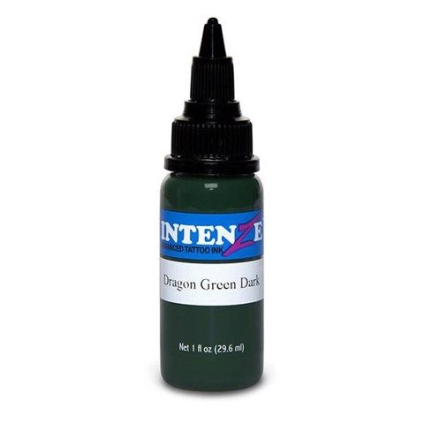 INTENZE INK - DRAGON GREEN DARK