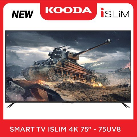 Smart TV iSLIM 4K- K75UV8 (NEW 2020)