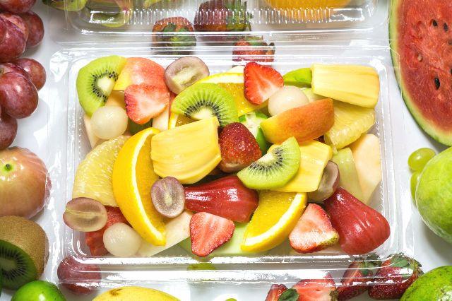 Hộp trái cây cắt sẵn - văn phòng