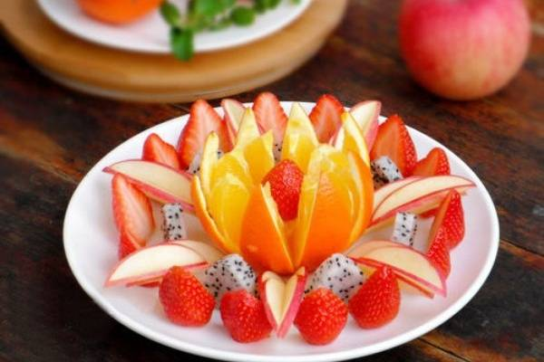 Đĩa trái cây tiệc/họp