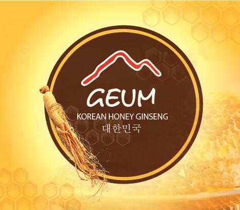 NHÂN SÂM MẬT ONG GEUM (GEUM인삼꿀-한국)