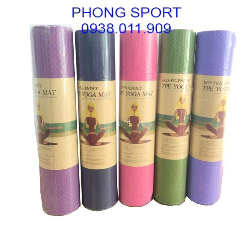 THẢM TẬP YOGA TPE ECO - FRIENDLY 001